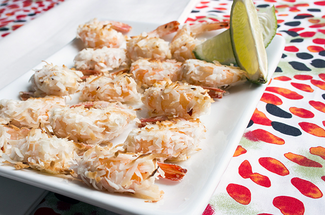 Coconut Shrimp with Lime