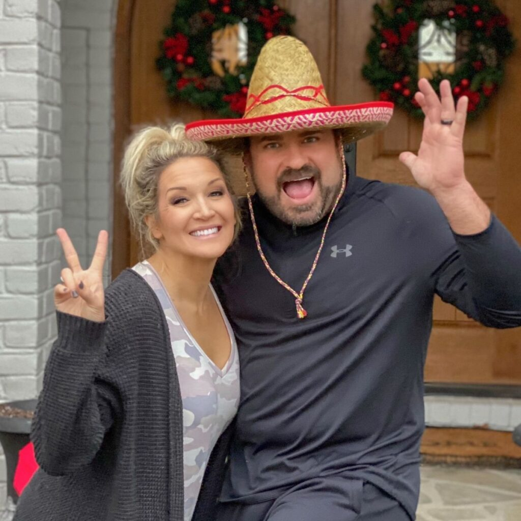 brooke and daron feature image for mexican fiesta party