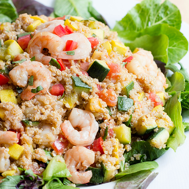 Easy Shrimp Quinoa Bowl Meal Prep Recipe