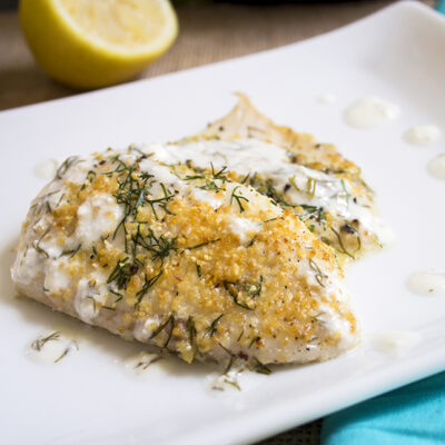Easy Baked Lemon Tilapia