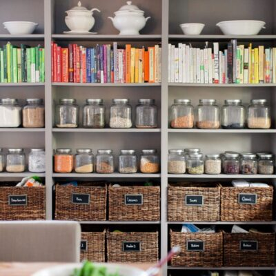 14 Beautiful Pantry Designs with Perfect Organization Ideas