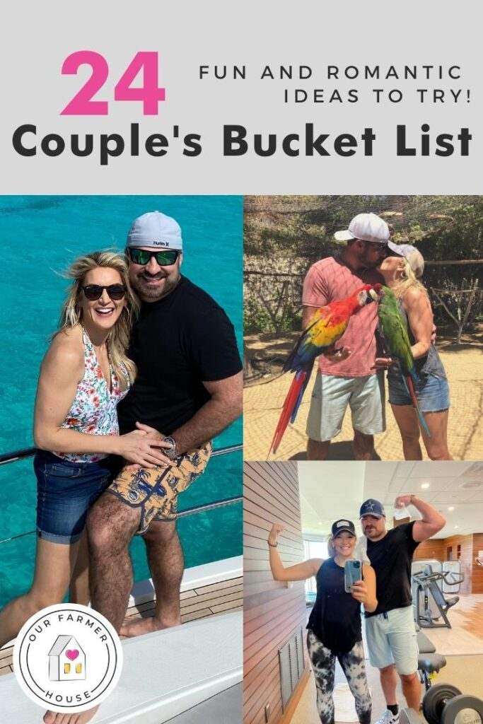 bucket list ideas for couples