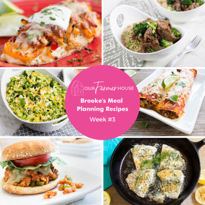 meal planning family recipes