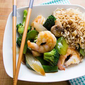 Asian Shrimp Stir Fry