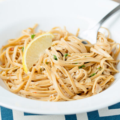 Easy Linguine with Clam Sauce