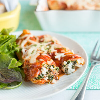 Light and Easy Manicotti Recipe